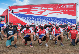 Honda Racing Rally Piocerá 2021