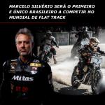 Prestes a completar 50 anos, curitibano Marcelo Silvério será o primeiro e único brasileiro a competir no Mundial de Flat Track