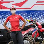 Bárbara Neves sai na frente entre os homens da categoria Júnior no Rally Piocerá