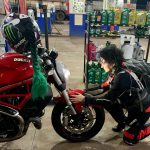 Virginia Barbosa torna-se a primeira mulher no mundo a finalizar o desafio Iron Butt com moto Ducati