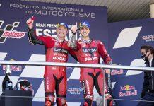Ducati Lenovo Team Miller e Pecco Bagnaia