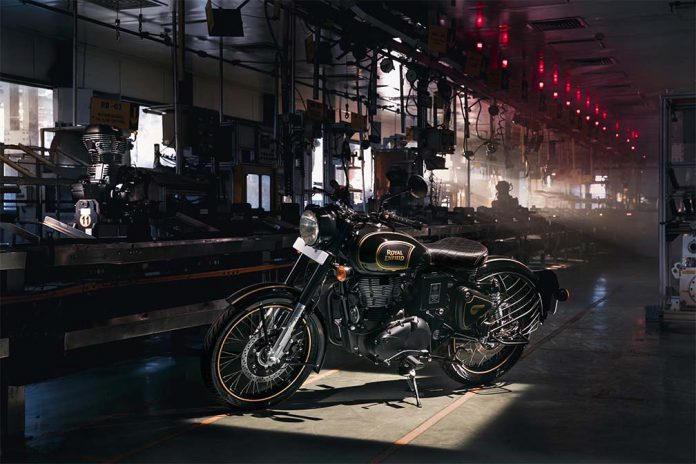 Classic 500cc Tribute Black
